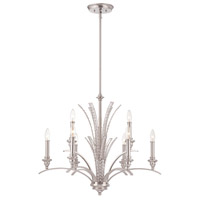 Grand Plazza 9 Light 28 inch Satin Platinum Chandelier Ceiling Light