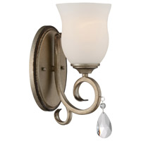 Gala 1 Light 5 inch Argent Silver Wall Sconce Wall Light