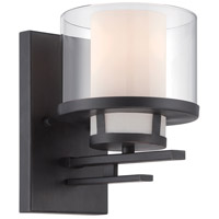 Designers Fountain 86101-BBR Fusion 1 Light 6 inch Biscayne Bronze Wall Sconce Wall Light