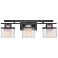 Bronze Fusion Bathroom Vanity Lights