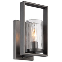 Designers Fountain Elements 1 Light Wall Sconce in Charcoal 86501-CHA