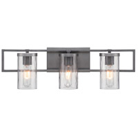 Designers Fountain Elements 3 Light Vanity Light in Charcoal 86503-CHA
