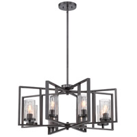 Designers Fountain Elements 8 Light Chandelier in Charcoal 86588-CHA