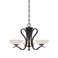 Galena 3 Light 23 inch Oil Rubbed Bronze Chandelier Ceiling Light