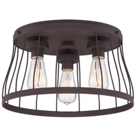 Designers Fountain Brooklyn 3 Light Flush Mount in Bronze 86821-BZ