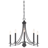 Designers Fountain 86985-BBR Cassina 5 Light 23 inch Biscayne Bronze Chandelier Ceiling Light