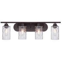 Designers Fountain Gramercy Park 4 Light Bath Bar in Old English Bronze 87104-OEB