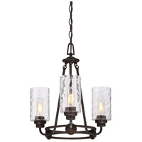 Gramercy Park 3 Light 18 inch Old English Bronze Chandelier Ceiling Light