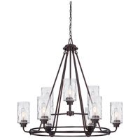 Designers Fountain 87189-OEB Gramercy Park 9 Light 34 inch Old English Bronze Chandelier Ceiling Light