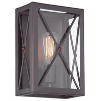High Line 1 Light 8 inch Satin Bronze Wall Sconce Wall Light