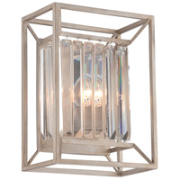 Designers Fountain Linares 2 Light Wall Sconce in Aged Platinum 87402-AP