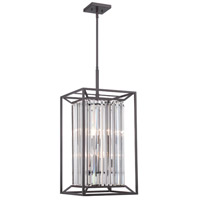 Designers Fountain Linares 4 Light Foyer Light in Vintage Bronze 87454-VB