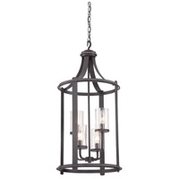 Designers Fountain Palencia 4 Light Foyer Light in Artisan Pardo Wash 87554-APW