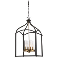 Designers Fountain Avondale 4 Light Foyer Light in Oil Rubbed Bronze 87654-ORB