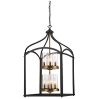 Designers Fountain Avondale 8 Light Foyer Light in Oil Rubbed Bronze 87658-ORB