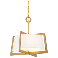 Hyde Park 3 Light 120 Vintage Gold Pendant Ceiling Light