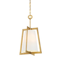 Hyde Park 3 Light 16 inch Vintage Gold Foyer Ceiling Light