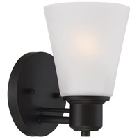 Printers Row 1 Light 5 inch Oil Rubbed Bronze Wall Sconce Wall Light