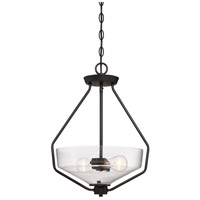 Printers Row 1 Light 120 Oil Rubbed Bronze Pendant Ceiling Light