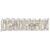 West 65th 3 Light 23 inch Satin Platinum Vanity Wall Light
