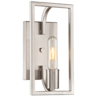 Uptown 1 Light 6 inch Satin Platinum Wall Sconce Wall Light