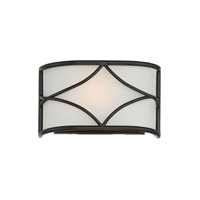 Avara 1 Light 9 inch Oil Rubbed Bronze Wall Sconce Wall Light