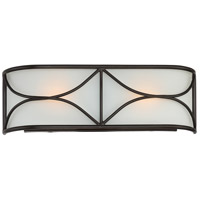 Avara 2 Light 17 inch Oil Rubbed Bronze Wall Sconce Wall Light