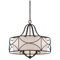 Avara 4 Light 24 inch Oil Rubbed Bronze Chandelier Ceiling Light