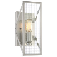 Pivot 1 Light 13 inch Satin Platinum Wall Sconce Wall Light