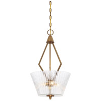 Montelena 3 Light 60 Old Satin Brass Pendant Ceiling Light