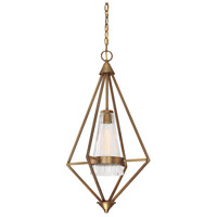 Montelena 1 Light 16 inch Old Satin Brass Foyer Ceiling Light