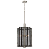 Baxter 5 Light 16 inch Weathered Iron Foyer Ceiling Light