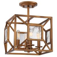 Designers Fountain 89411-GB Athina 4 Light Gilded Bronze Semi-Flush Ceiling Light