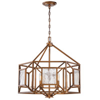 Athina 6 Light 25 inch Gilded Bronze Chandelier Ceiling Light
