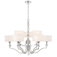 Evi 9 Light 35 inch Chrome Chandelier Ceiling Light