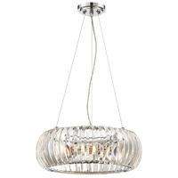Designers Fountain 90033-CH Allure 3 Light 18 inch Chrome Pendant Ceiling Light