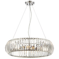 Designers Fountain 90035-CH Allure 4 Light 24 inch Chrome Pendant Ceiling Light