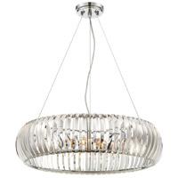 Designers Fountain 90035-CH Allure 4 Light 24 inch Chrome Pendant Ceiling Light
