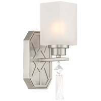 Brentwood 1 Light 5 inch Satin Platinum Wall Sconce Wall Light