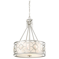 Designers Fountain 90131-SP Brentwood 3 Light 20 inch Satin Platinum Pendant Ceiling Light
