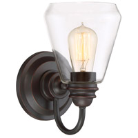 Foundry 1 Light 6 inch Satin Bronze Wall Sconce Wall Light
