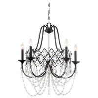 Ravina 5 Light 26 inch Vintage Bronze Chandelier Ceiling Light