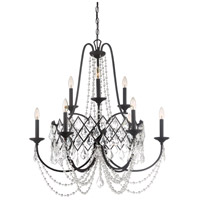 Ravina 9 Light 32 inch Vintage Bronze Chandelier Ceiling Light