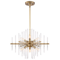 Reeve 6 Light 20 inch Burnished Antique Brass Chandelier Ceiling Light
