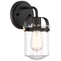 Jaxon 1 Light 6 inch Oil Rubbed Bronze Wall Sconce Wall Light