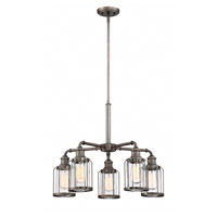 Designers Fountain 91385-SCB Anson 5 Light 25 inch Satin Copper Bronze Chandelier Ceiling Light