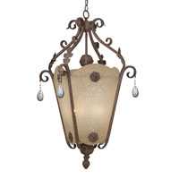 San Mateo 6 Light 22 inch Ancient Oak Hall & Foyer Ceiling Light