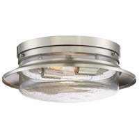 Designers Fountain 91521-SP Dover 2 Light 15 inch Satin Platinum Flushmount Ceiling Light