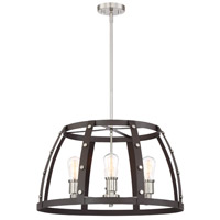 Designers Fountain 91686-RT Presidio 6 Light 24 inch Rustique Chandelier Ceiling Light