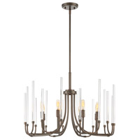 Laretto 8 Light 26 inch Satin Copper Bronze Chandelier Ceiling Light